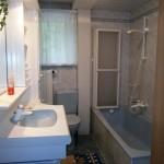 Bad und WC für´s Singlezimmer