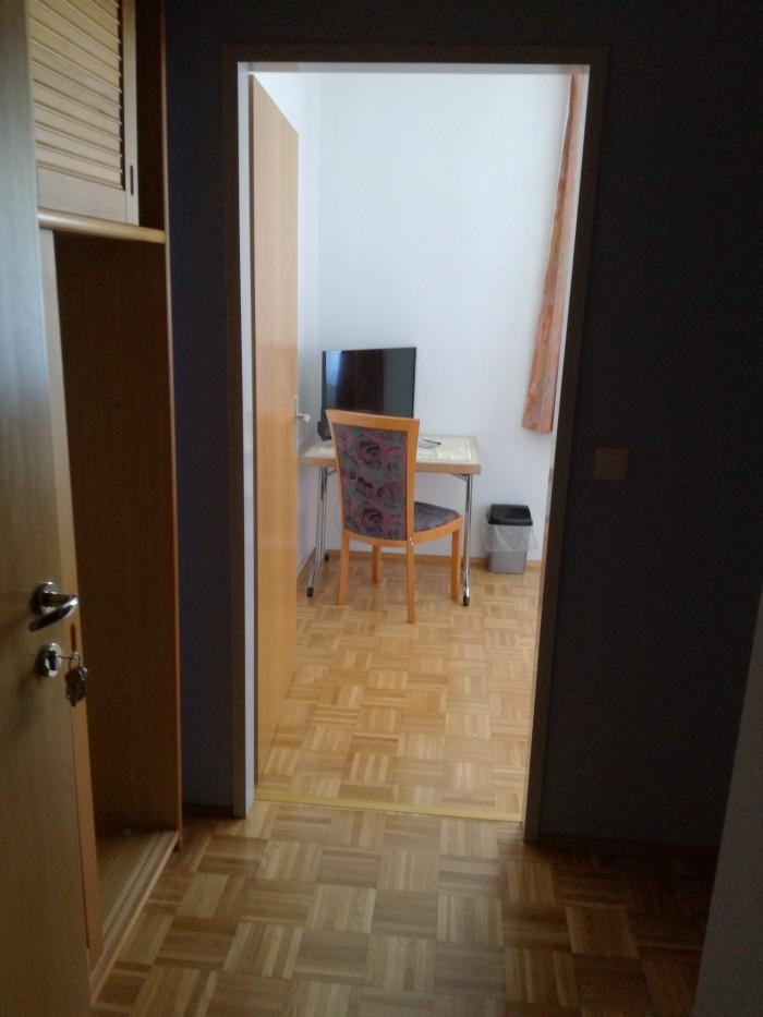 Vorraum Einbettzimmer
