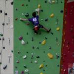 David bei den Klettermeisterschaften in Mitterdorf