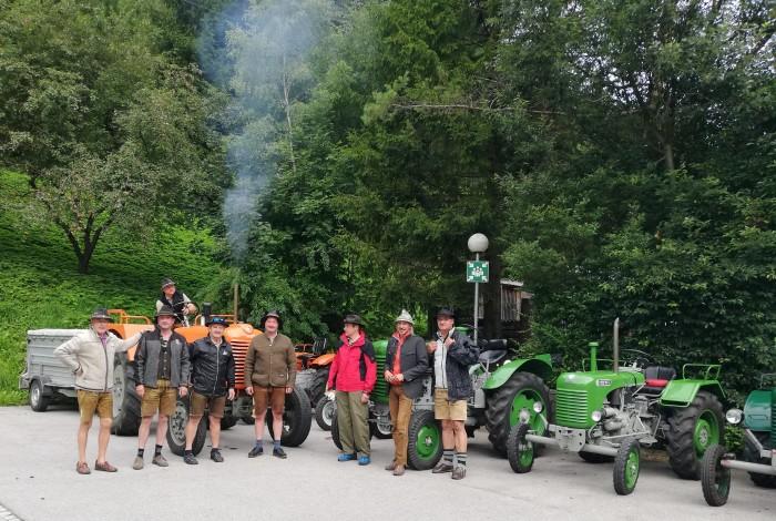 Traktorfahrer aus Proleb