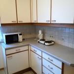 Kochgelegenheit, Microwelle, Kühlschrank