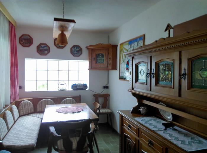 Bauernstube in der Gartenhütte