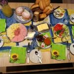Frühstück ab 5 Uhr möglich