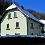 Pension im Winter